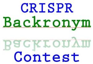 CRISPR backronym contest