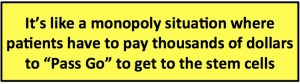 stem cell monopoly quote