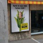 Anti-GMO poster in Switzerland invokes human GMOs