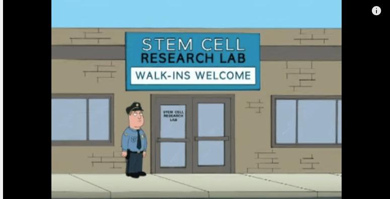 Peter Griffin Stem Cells Stroke