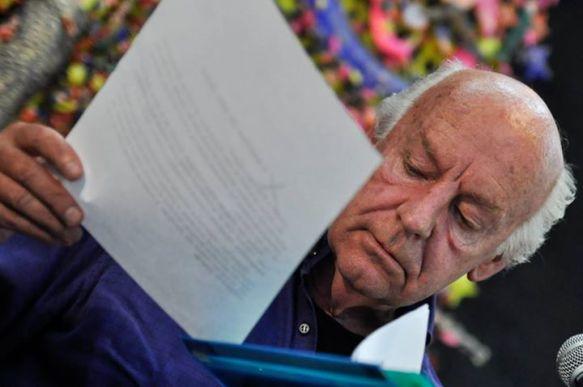 Eduardo Galeano en la Casa de las Américas