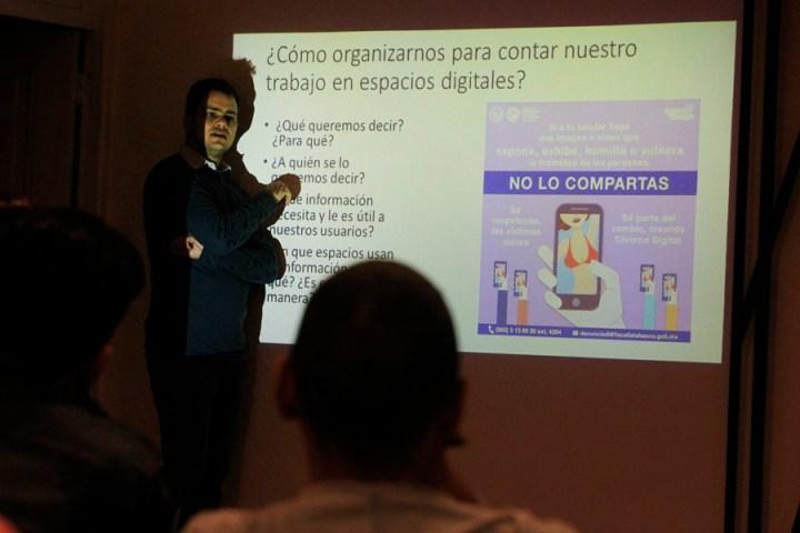 agenda sobre feminismo para comunicadores sociales