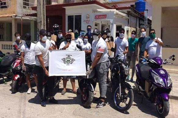 cuba motos eléctricas como transporte para mensajería