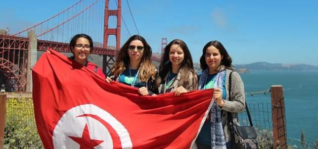 Violence against women - Young Tunisian women. Photo: UN Women