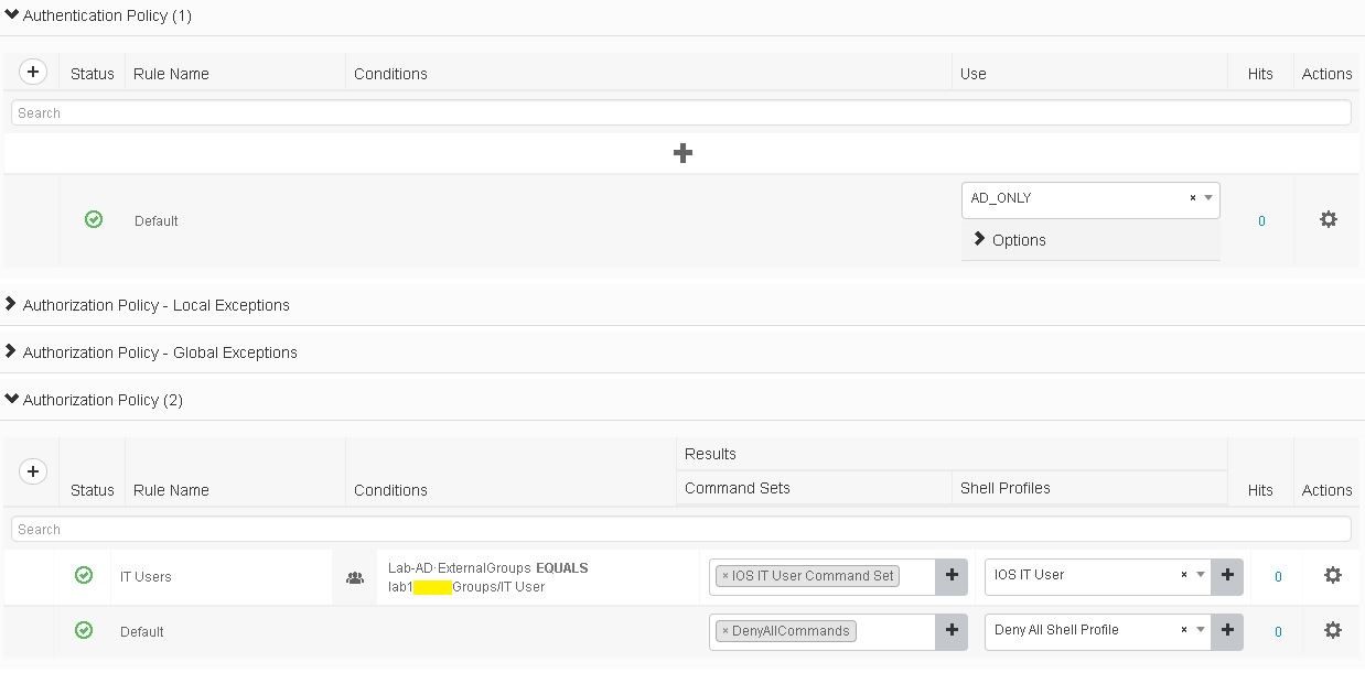 CISCO ISE: TACACS+ Configuration – IPStorming