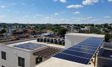 Solar Pergola in Washington DC