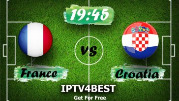 LIVE France vs Croatia