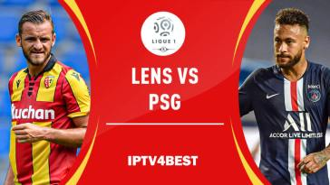 Paris Saint-Germain is a heavyweight guest on Lens
