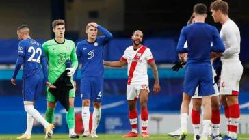 Southampton imposes a draw at Chelsea