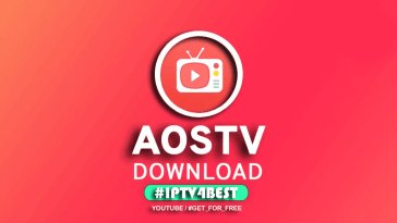 AOS TV APK Download Latest Version By IPTV4BEST