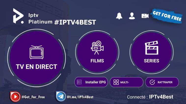 IPTv Platinum APK+Activation Login Premium IPTv APK By IPTV4BEST