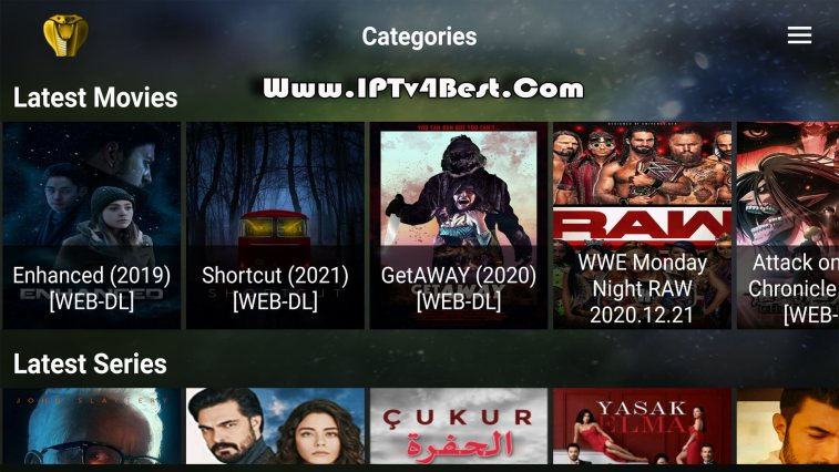 Cobra Plus IPTv APK + Code Activation IPTv APK By IPTV4BEST.COM