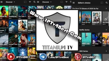 Titanium Tv APK Latest Version For Android 2021-IPTV4BEST.COM