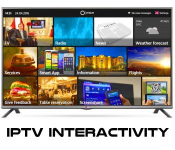 IPTV INTERACTIVITY SOLUTION
