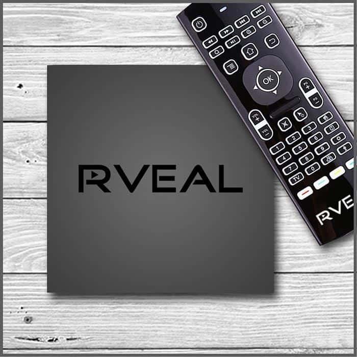 Rveal 2 player de mídia de transmissão de TV ao vivo sem assinatura