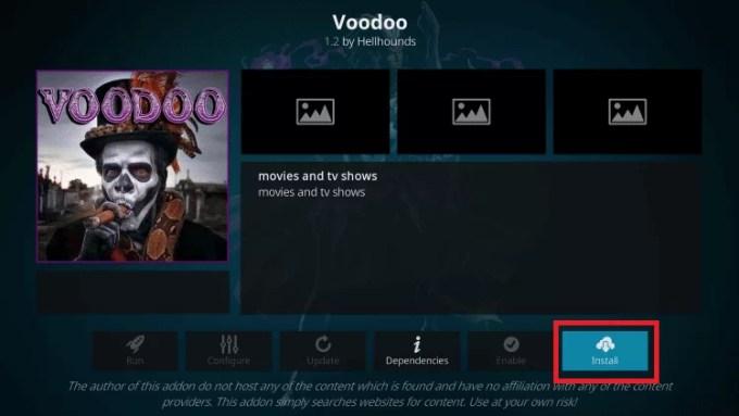 Install - Voodoo IPTV