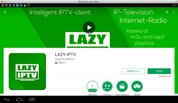 Lazy IPTV for Windows