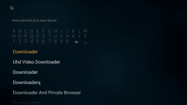 Search for Downloader