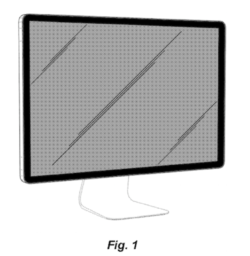 Design Patent Awarded to Apple For a Flat-screen Monitor Display