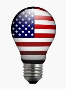 American flag lightbulb - https://depositphotos.com/84382632/stock-photo-bulb-light-with-american-flag.html