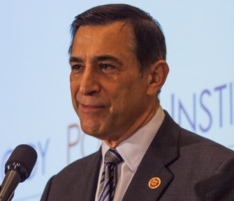 Congressman Darrell Issa (R-CA) at the National Press Club, Feb. 11, 2015.