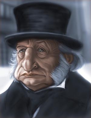 George C. Scott as Scrooge