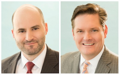 Mark Howland (left) and Sam Joyner (right)