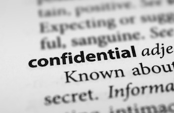 confidential-definition