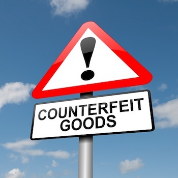 Caution! Counterfeit.