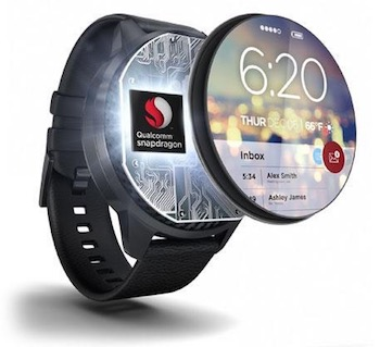 Qualcomm's Snapdragon Wear 2100.