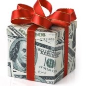 Money gift box