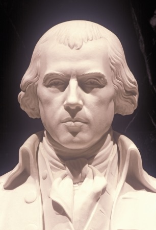 Statue of James Madison, father of the US Constitution, Library of Congress, Washington D.C.