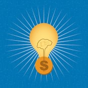 Lightbulb idea for money