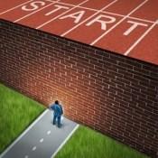 Start brick wall