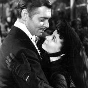 """Photo of Clark Gable and Vivien Leigh from Gone With the Wind"" by Deems Taylor/Simon & Schuster. Public domain."