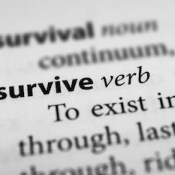 Survive definition