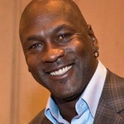 """Michael Jordan at NBA's Board of Governors Meeting, April 17, 2014"" by D. Myles Cullen/DOD. Public domain."