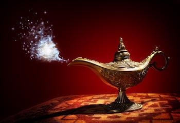 Genie lamp