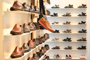 """""""Shoes on the Shelf at the Shoe Store"""" by Public Domain. Public domain."""