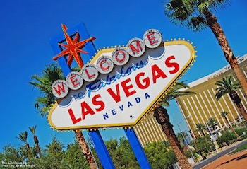 """""""Las Vegas: Welcome to Vegas Sign"""" by WriterGal39. Licensed under CC BY-ND 2.0."""
