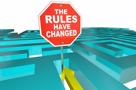 rules have changed maze - https://depositphotos.com/stock-photos/the-rules-have-changed-mze.html?filter=all&qview=136182666