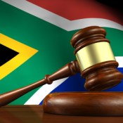 South Africa gavel