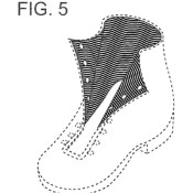 Fig. 5 of U.S. Design Patent No. D657,093, assigned to Columbia Sportswear North America, Inc.