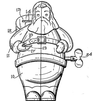 Fig. 1 from U.S. Patent No. 2,635,383.