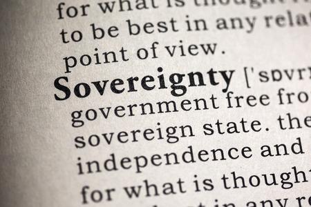Tribal Sovereign Immunity - Sovereignty