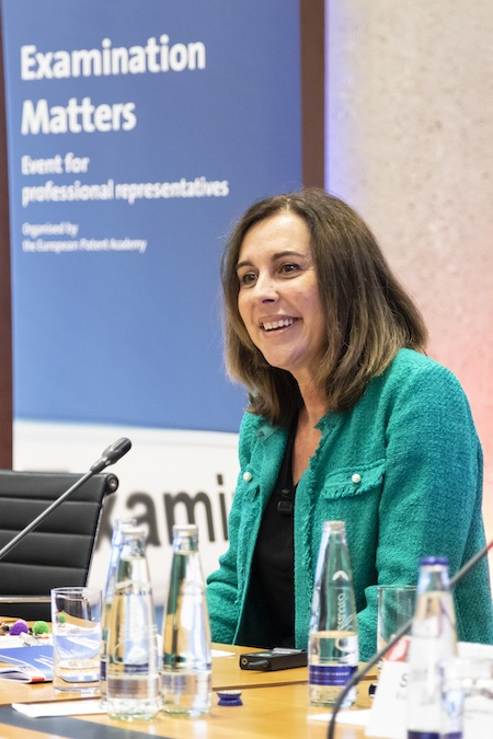 Roberta Romano-Götsch, chief operating officer of Mobility and Mechatronics at the European Patent Office (EPO).