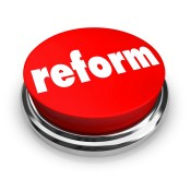 REform - https://depositphotos.com/2075803/stock-photo-reform-red-button.html
