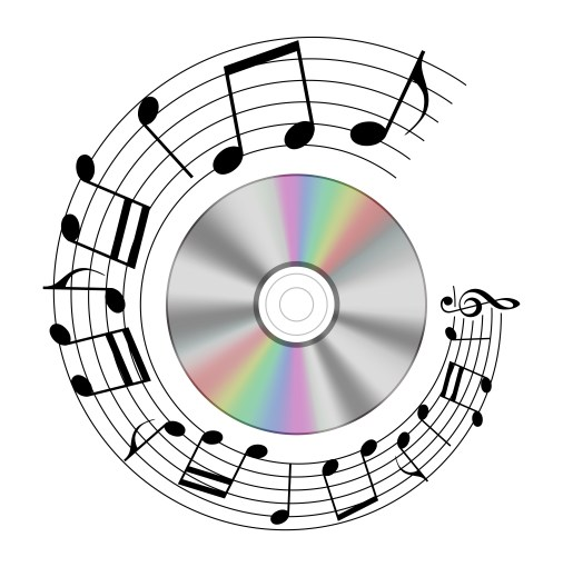 music - https://depositphotos.com/235381740/stock-photo-realistic-note-record-shape-circle.html