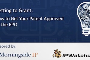 Getting to Grant: How to Get Your Patent Approved by the EPO – September 12, 2019