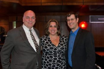 Renee Quinn with her two favorite inventors! Paul Morinville (left) and Josh Malone (right).
